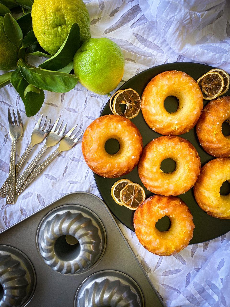 Gluten Free Lemon Cakes