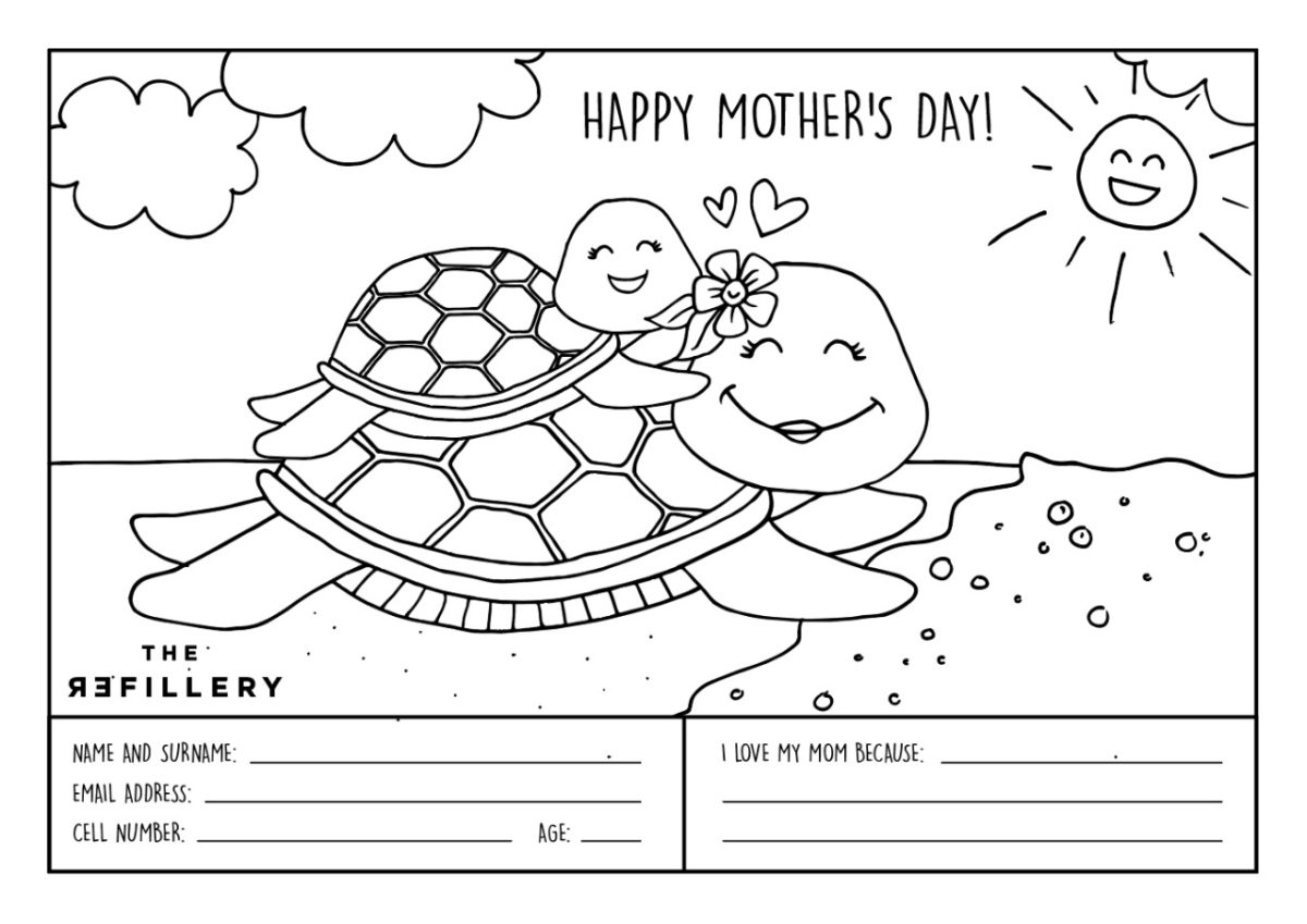 Free Printable colouring in