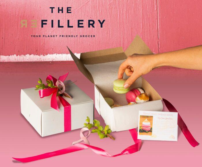 Breast Cancer awareness Macaron box