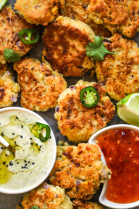 Millet fritters